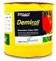 Клеевая ловушка Russell IPM Demiroll Tuta Plus Желтая без рисунка с феромоном Tuta absoluta 15х100м