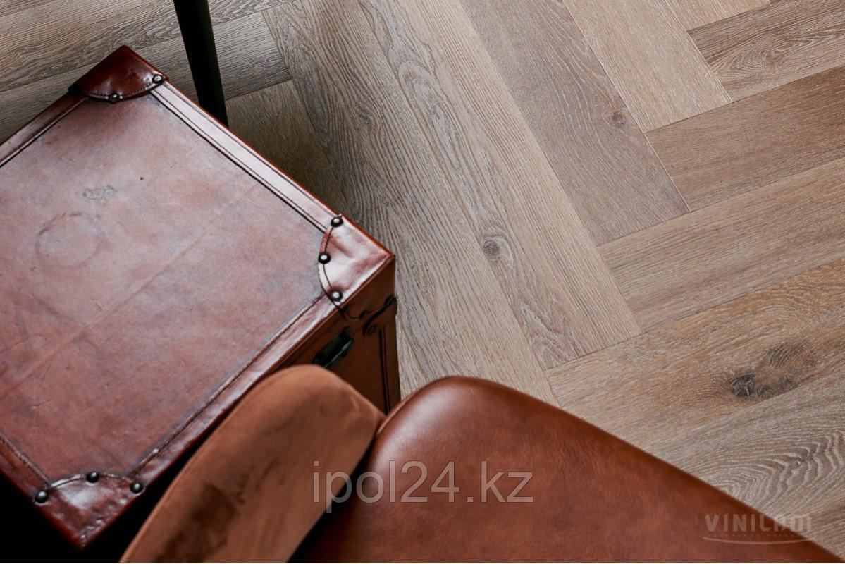 Виниловая плитка замковая VINILAM PARQUET Herringbone IS11199 Венецианский Паркет