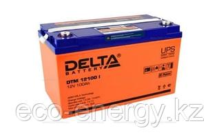 Аккумуляторная батарея Delta DTM 12100 I (12V / 100Ah LCD Дисплей)