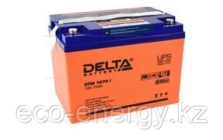 Аккумуляторная батарея Delta DTM 1275 I (12V / 75Ah LCD Дисплей)