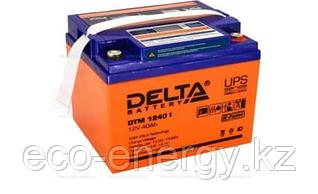 Аккумуляторная батарея Delta DTM 1240 I (12V / 40Ah LCD Дисплей)