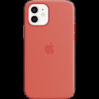 Силиконовый чехол MagSafe для IPhone 12 | 12 Pro Silicone Case with MagSafe - Pink Citrus