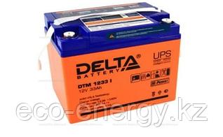Аккумуляторная батарея Delta DTM 1233 I (12V / 33Ah LCD Дисплей)
