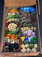 Подарочный набор с шоколадом и сухофруктами