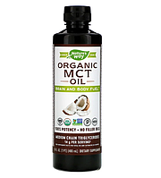 Nature's Way, Органическое масло со среднецепочечными триглицеридами (СЦТ), 480 мл (16 жидких унций)