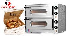 Печь для пиццы электрическая Resto Italia SMALL/G2 (550х450х435 мм, 3,2кВт, диаметр пиццы 33см, 2секции)