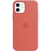 Силиконовый чехол MagSafe для IPhone 12 mini Silicone Case with MagSafe - Pink Citrus