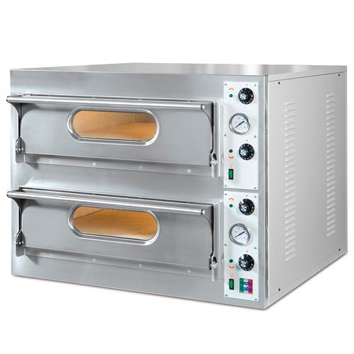 Печь для пиццы ЭПП-44 (825/935х925х710 мм , 2 камеры, на 8 пицц D 33 см. 10 кВт, 400 В)