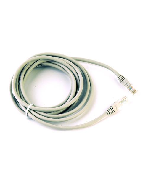3М FQ100071585 Коммутационный кабель кат. 5e, неэкранированный, RJ45-RJ45, UTP, серый, LSZH, 3 м