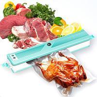 Вакуумный упаковщик домашний для пищевых продуктов Aquamarine