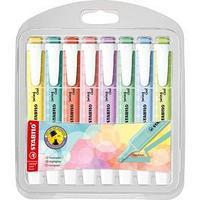 Набор маркеров-текстовыделителей 8 цвета STABILO Swing Cool пастельные цвета, 1-4 мм, блистер