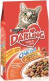Darling Дарлинг сухой корм для кошек птица и овощи, 1 кг НА РАЗВЕС