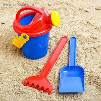 Набор для игры в песке, лейка 350 мл, цвета МИКС