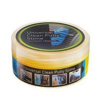 Антибактериальный гель-слайм Лизун, очиститель поверхностей, желтый, 150 мл