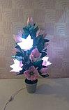 Большие цветы для интерьера. Светильник - ночник Магнолия.  Creativ 71, фото 4