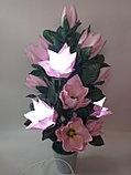 Большие цветы для интерьера. Светильник - ночник Магнолия.  Creativ 71, фото 6