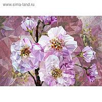 """Фотообои Komar XXL4-064 """"Цветущие драгоценные камни"""" (из 4-х листов), 368х254см"""