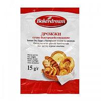 """Дрожжи инстантные """"Bakerdream"""" 15 гр"""