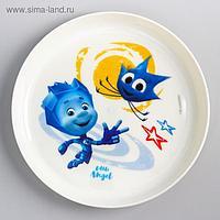 Детская тарелка ФИКСИКИ, «Нолик», 450 мл.