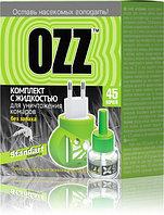 """Комплект с жидкостью """"OZZ STANDART"""" для уничтожения комаров 45 ночей."""