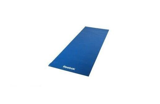 Тренировочный коврик (мат) для йоги Reebok синий RAYG-11022BL - фото 1