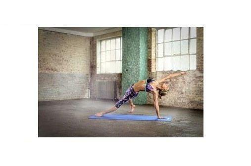 Тренировочный коврик (мат) для йоги Reebok синий RAYG-11022BL - фото 3