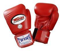 Перчатки Twins BGVL-3 для муай тай и бокса 16 oz (Черный)