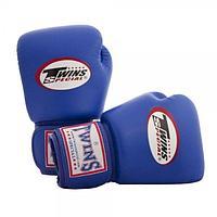 Перчатки Twins BGVL-3 для муай тай и бокса 14 oz (Черный)