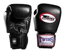 Перчатки Twins BGVL-3 для муай тай и бокса 12 oz (Черный)