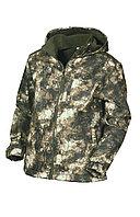 Куртка мужская демисезонная ОКРУГ Заря +15°C (ткань виндблок, кмф.зеленый), размер 58