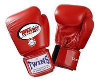 Перчатки Twins BGVL-3 для муай тай и бокса 10 oz (Черный), фото 1