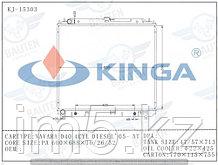 Радиатор охлаждения NISSAN NAVARA D40 05-