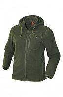 Куртка мужская демисезонная ОКРУГ (ткань флис, олива), размер 56-58