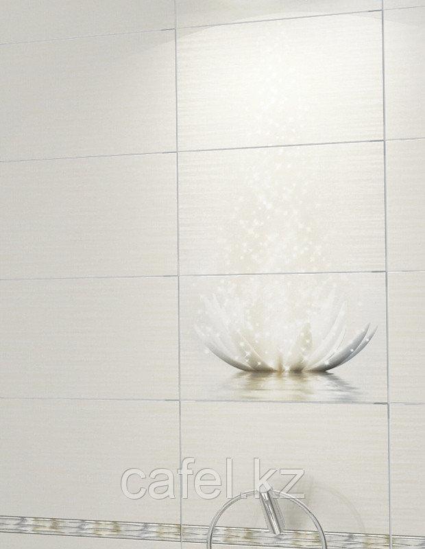 Кафель   Плитка настенная 25х40 Магик лотус   Magic lotus (панно из 3 плиток)