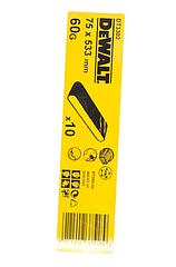 Шлифленты DEWALT DT3302, 75 x 533 мм, 60G, 10 шт.