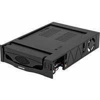 Сменный бокс для HDD AgeStar MR3-SATA(S)-1F SATA II пластик черный 3.5'