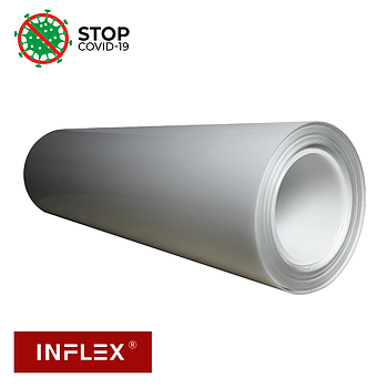 INFLEX  Пленка антибактериальная  (0.5мХ20м TPH A-B film 130мкм ROHS )  МЕТР
