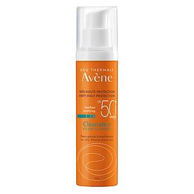 AVENE SUN CLEANANCE Флюид солнцезащитный SPF 50+ для жирной кожи 50мл