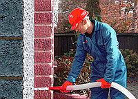 Утепление стен пеноизолом под облицовку