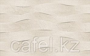 Кафель   Плитка настенная 25х40 Саммер стоун   Summer stone wave бежевый