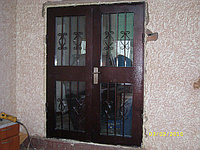 Дверь двустворчатая металлическая утепленная