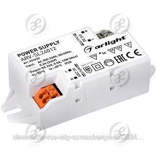 Блок питания ARV-SL24012 (24V, 0.5A, 12W)