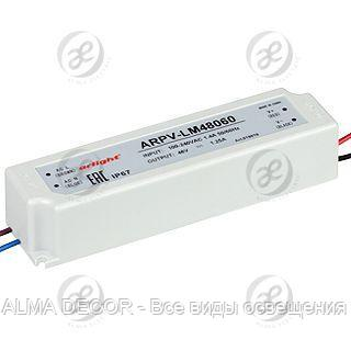 Блок питания ARPV-LV48060-A (48V, 1.3A, 60W)