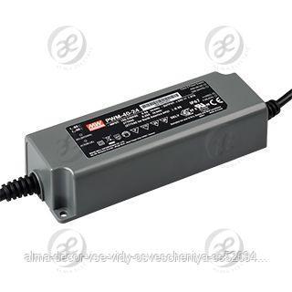 Блок питания PWM-40-24 (24V, 1.67A, 40W, 0-10V, PFC)