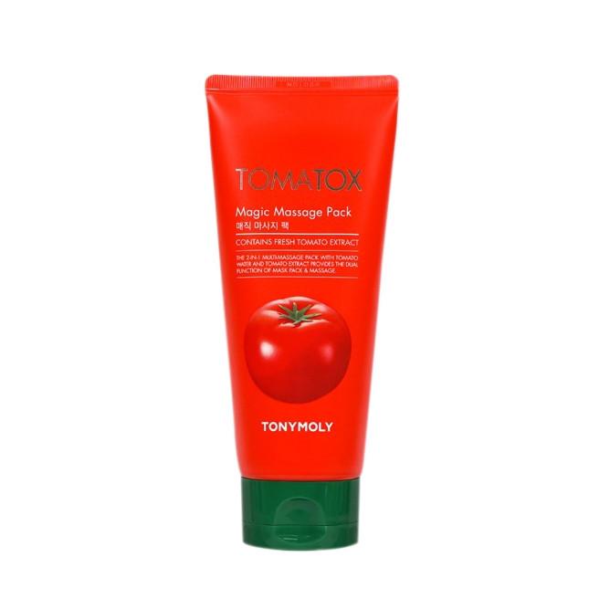 Tonymoly Отбеливающая томатная маска Tomatox Magic White Massage Pack