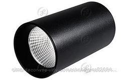 Светильник накладной SP-POLO-R85-1-15W Day White 40deg (Black, Black Ring)