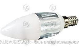 Светодиодная лампа E14 4W Candle-BS35D Day White