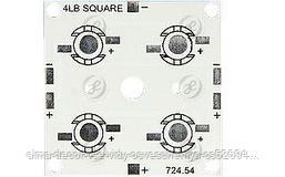 Плата 50x50-4E Emitter (4x LED, 724-54)