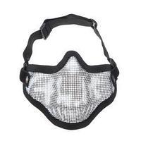 Очки-маска для езды на мототехнике, армированная, черный