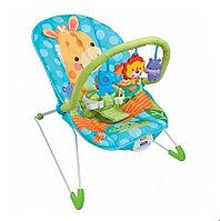 Детское кресло-качалка Fitch Baby Animal Paradise с игрушками и вибрацией